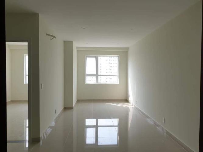 Phòng khách căn hộ Topaz Elite quận 8 Căn hộ tầng cao Topaz Elite ban công hướng Đông Nam, bàn giao không nội thất