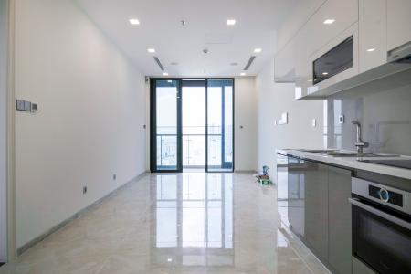 Officetel Vinhomes Golden River 1 phòng ngủ tầng cao Aqua 3 nhà trống