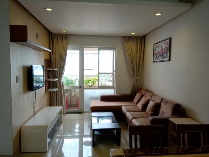 Bán căn hộ tầng trung Saigonland Apartment đầy đủ nội thất.