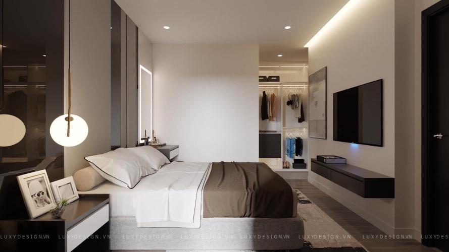 Phòng ngủ Sunrise Riverside Căn hộ Sunrise Riverside tầng thấp, đầy đủ nội thất tiện nghi.