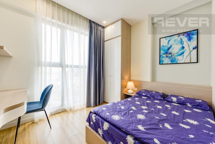Phòng ngủ 2 Cho thuê căn hộ Masteri Millennium tầng cao 2PN đầy đủ nội thất view đẹp