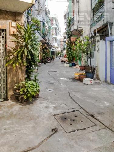 Lối Đi 2 Bán nhà phố đường Hàn Hải Nguyên 47.9m2, 4 tầng 6PN 4WC, nội thất cơ bản