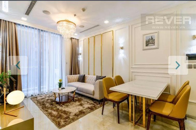 Cho thuê căn hộ Vinhomes Golden River, 1 phòng ngủ tầng cao view đẹp, diện tích 58.8m2, đầy đủ nội thất.