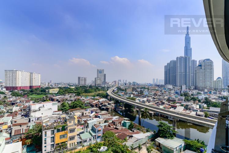 View Căn hộ City Garden 1PN, view đẹp, nội thất đầy đủ