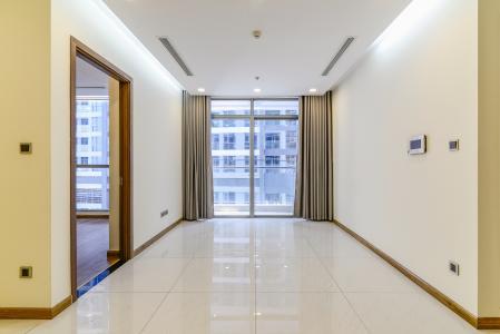 Căn hộ Vinhomes Central Park 2 phòng ngủ tầng cao P4 nhà trống