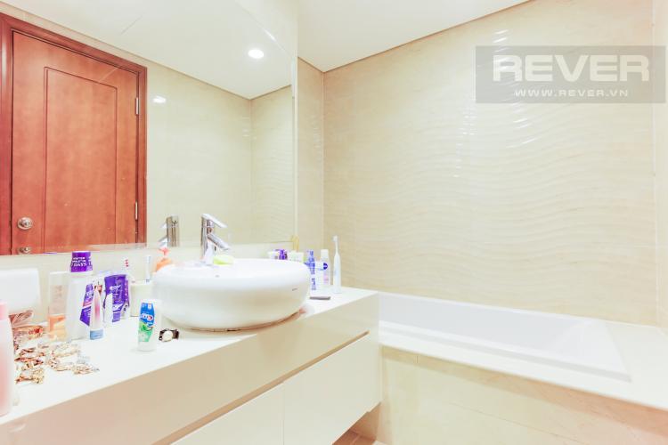 Phòng Tắm 2 Căn góc Vinhomes Central Park tầng cao Central 1 view nhìn vĩnh viễn về sông