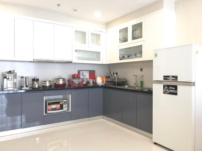 Phòng bếp căn hộ Vinhomes Central Park Căn hộ tầng cao Vinhomes Central Park đầy đủ nội thất, 3 phòng ngủ.