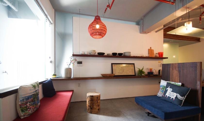 Phòng khách Masteri Thảo Điền Quận 2 Căn hộ Masteri Thảo Điền view sông, nội thất đầy đủ.