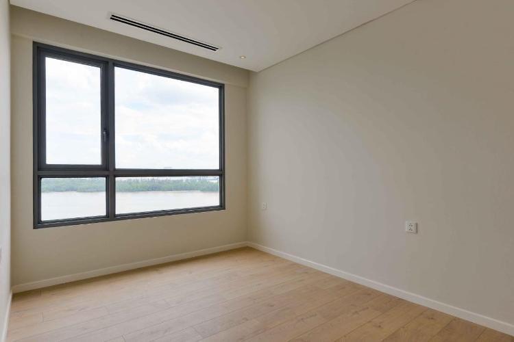Phòng ngủ Diamond Island Quận 2  Căn hộ view sông Đảo Kim Cương tầng cao, nội thất cơ bản.