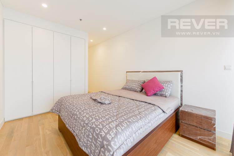 Phòng ngủ 1 Căn hộ City Garden tầng cao 2PN đầy đủ nội thất, tiện ích đa dạng