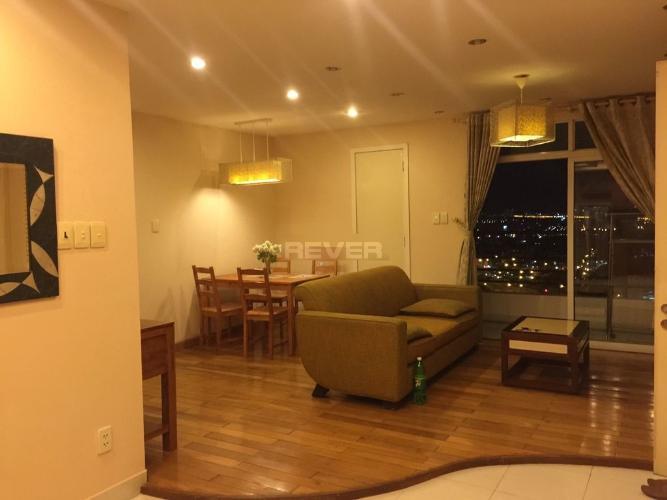Căn hộ chung cư Phúc Thịnh, view thành phố lung linh về đêm.