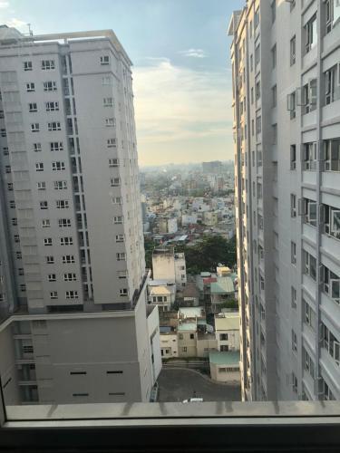 View ban công CH 3PN Saigonres Plaza Bán căn hộ 3 phòng ngủ  SaigonRes Plaza 92 m2, tầng cao, ban công hướng Đông Bắc