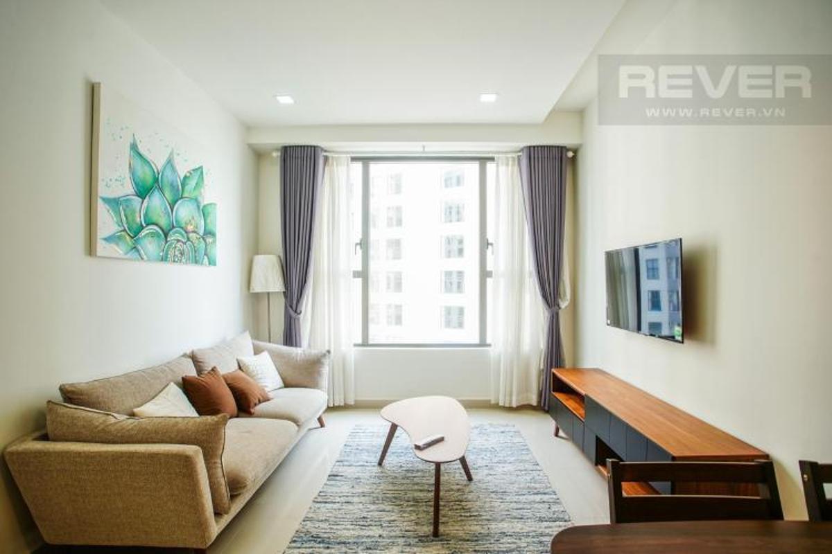image Cho thuê căn hộ The Tresor 2PN, tháp TS1, diện tích 65m2, đầy đủ nội thất, view sông Sài Gòn