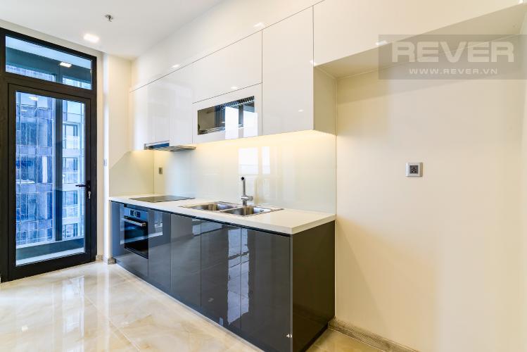 Nhà Bếp Officetel Vinhomes Golden River 2 phòng ngủ view sông tầng cao A2