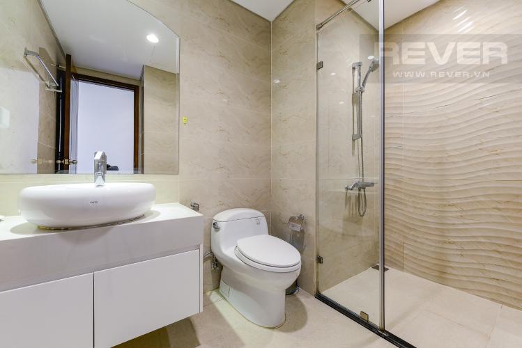 Phòng tắm 1 Căn hộ Vinhomes Central Park tầng trung, 3 phòng ngủ, hướng Đông Bắc, view sông