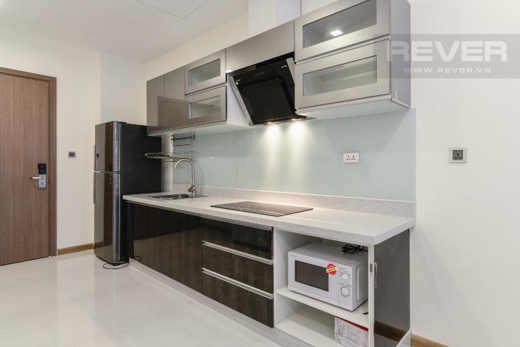 Nhà Bếp Căn hộ Vinhomes Central Park 1 phòng ngủ tầng cao P7 view sông