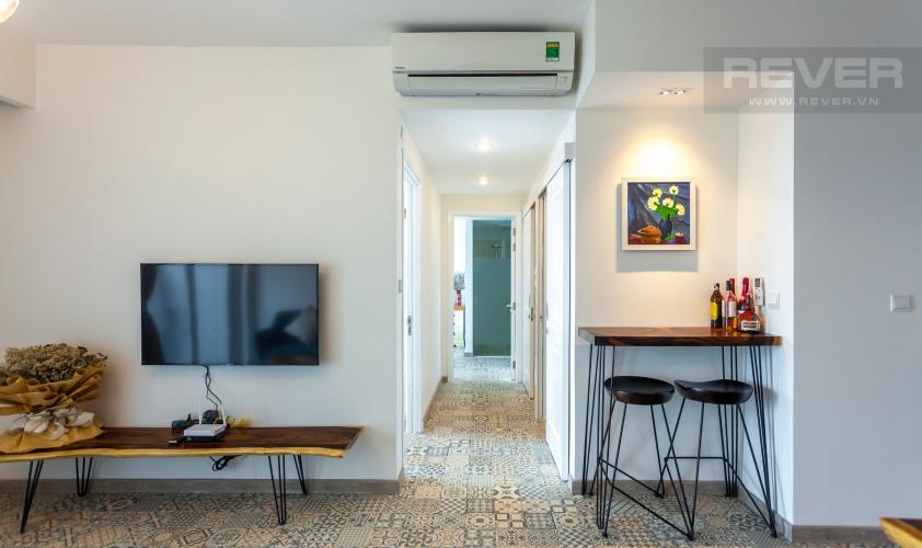 Tổng Quan Căn hộ Vista Verde tầng cao, tháp T1, 2 phòng ngủ, view sông