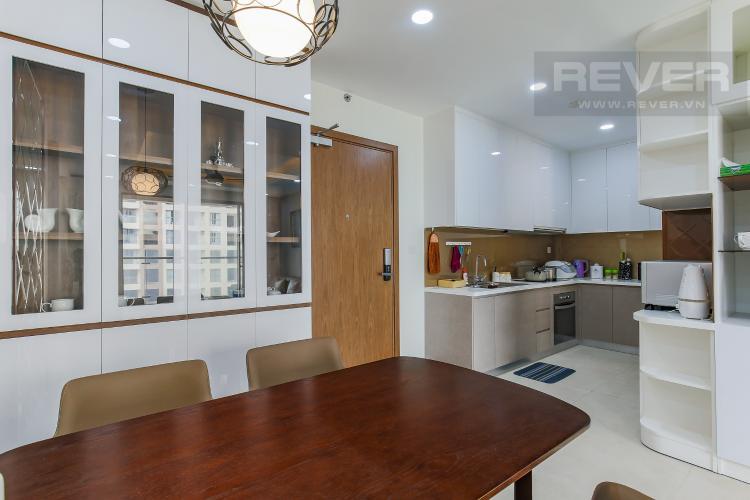 Phòng Bếp Căn hộ Masteri Millennium tầng cao, 3PN, đầy đủ nội thất, view kênh Bến Nghé