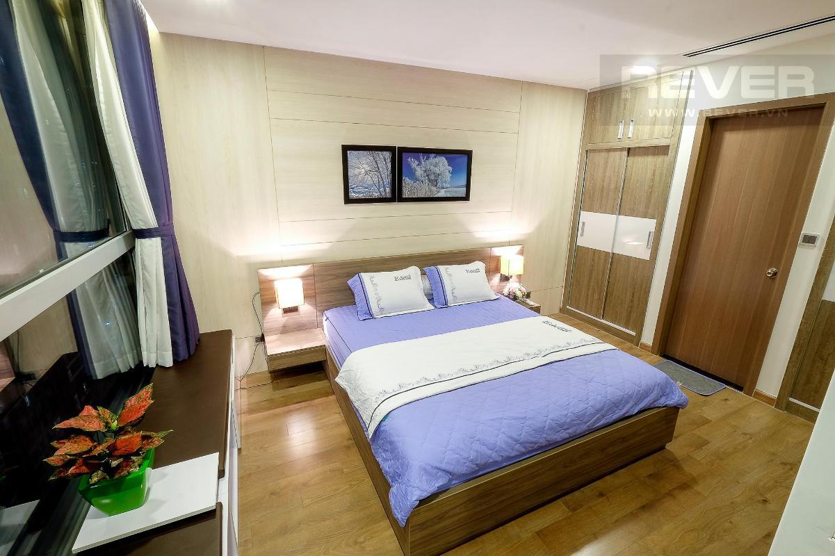 Phòng Ngủ 2 Bán căn hộ Vinhomes Central Park 3PN, tháp Park 1, diện tích 116m2, đầy đủ nội thất