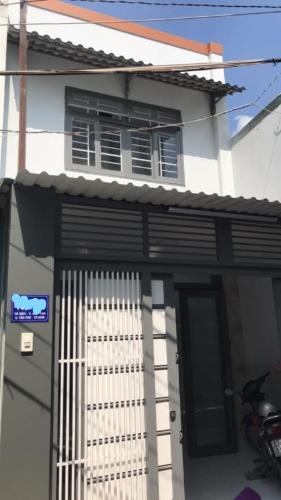 Mặt tiền nhà Nhà phố trung tâm Tân Phú hướng Nam, hẻm xe ba gác.