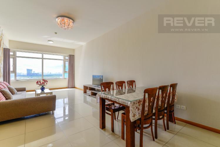 Phòng Ăn Cho thuê căn hộ Saigon Pearl 3PN đầy đủ nội thất