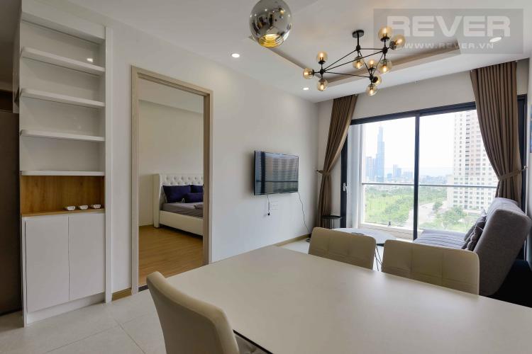 Phòng Khách Cho thuê căn hộ New City Thủ Thiêm 2PN, tháp Venice, đầy đủ nội thất, view Landmark 81