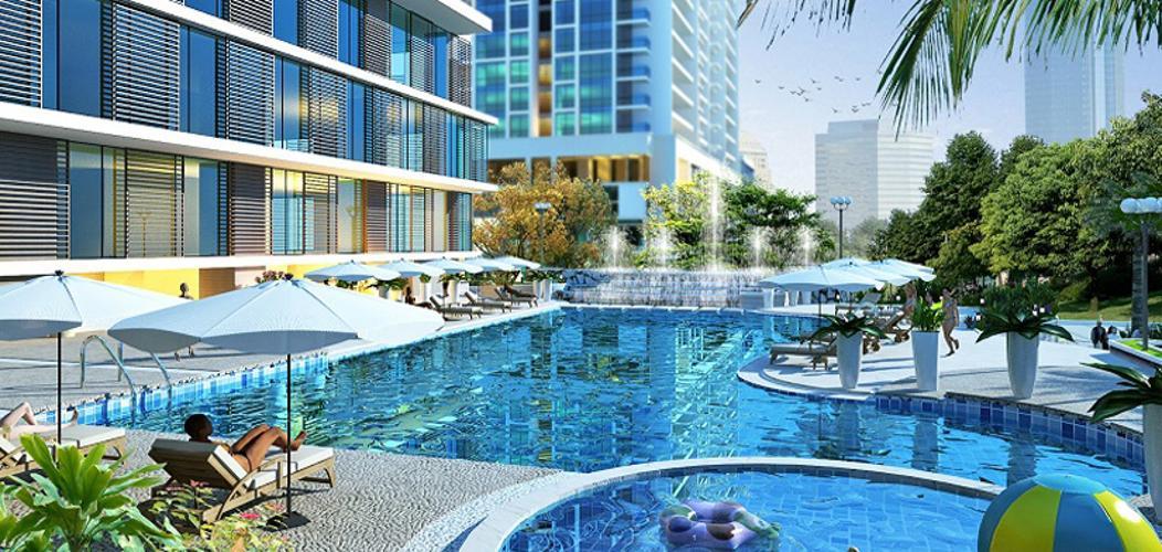 tiện ích căn hộ city gate 3 Căn hộ City Gate 3 tầng cao, view thoáng mát.