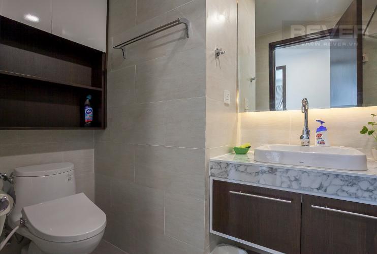 Phòng Tắm 1 Căn hộ Vista Verde 2 phòng ngủ tầng cao T1 nội thất hiện đại