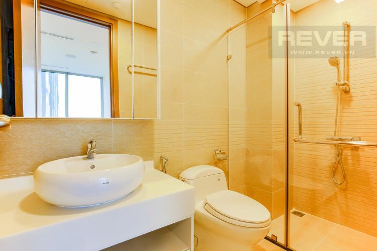 Phòng Tắm 1 Căn hộ Vinhomes Central Park tầng cao Park 6 mới bàn giao, chưa ở