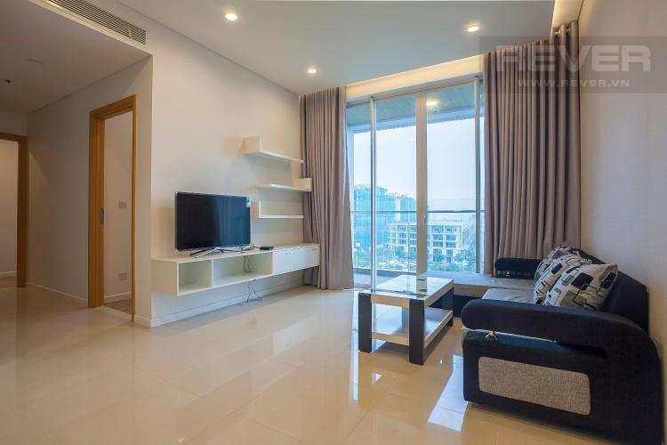 Phòng Khách Căn hộ Sarimi Sala Đại Quang Minh 2 phòng ngủ tầng thấp A1