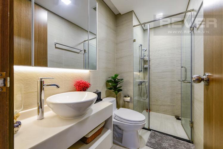 Phòng tắm 2 Căn hộ Vinhomes Central Park tầng trung, tháp Park 5, 2 phòng ngủ, full nội thất