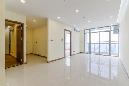 Căn hộ Vinhomes Central Park 3 phòng ngủ tầng cao L4 nhà trống