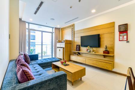 Căn hộ Vinhomes Central Park 3 phòng ngủ tầng cao P6 nội thất đẹp