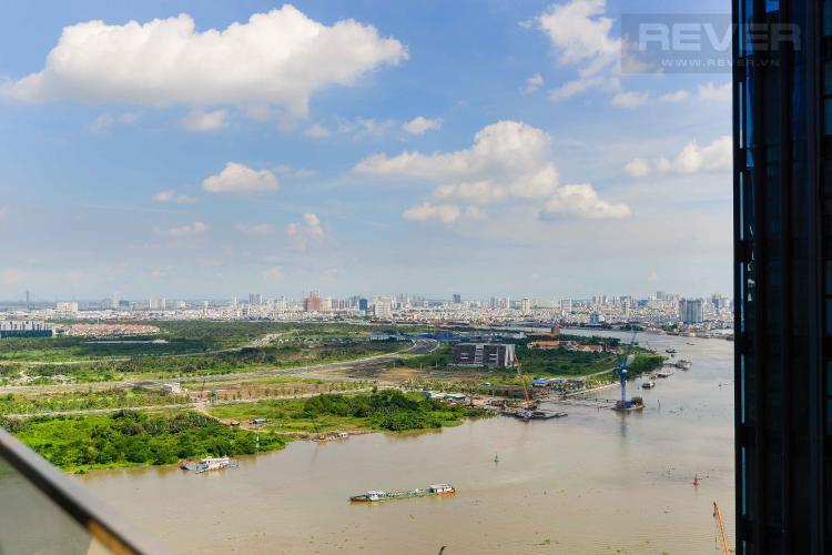 View Bán căn hộ Vinhomes Golden River 1PN, đầy đủ nội thất, view trực diện sông Sài Gòn