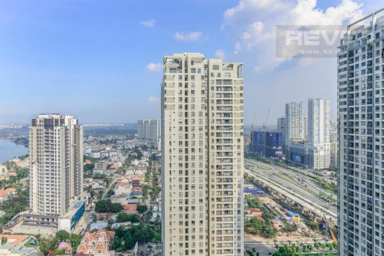 View Căn hộ Masteri Thảo Điền 2 phòng ngủ tầng cao T3 view sông