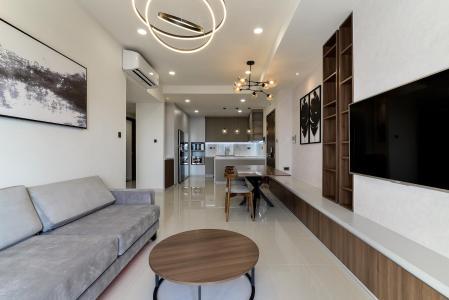 Cho thuê căn hộ Saigon Royal 3 phòng ngủ, tháp B, đầy đủ nội thất, view sông Sài Gòn