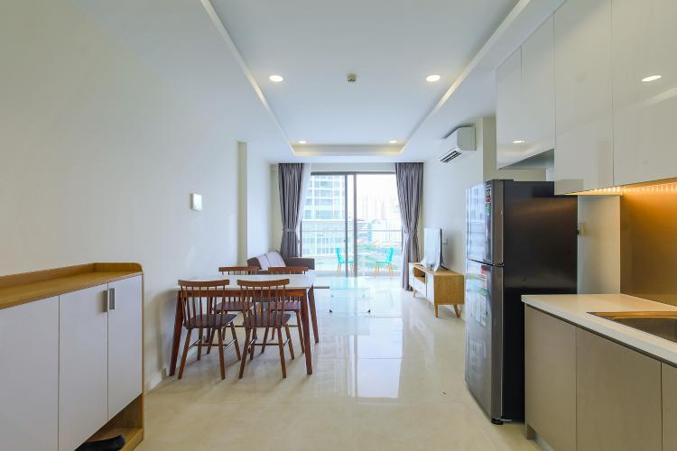 Cho thuê căn hộ Masteri Millennium tầng trung, có ban công, 2PN