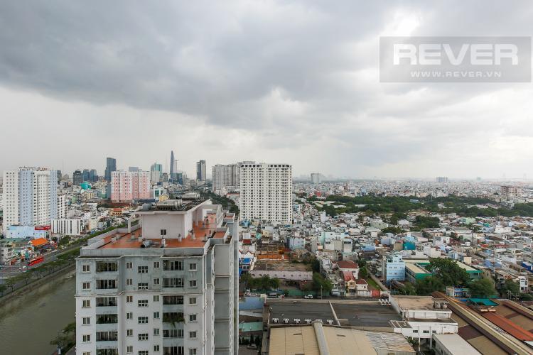 View Căn hộ The Gold View tầng trung, tháp A3, 2 phòng ngủ, view sông