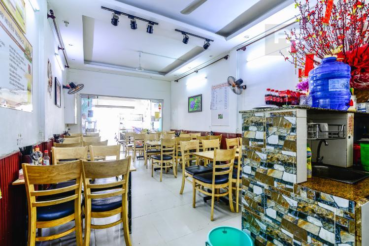 Mặt Bằng Tầng 1 Nhà phố 4 phòng ngủ đường Nguyễn Trọng Tuyển diện tích đất 60.3m2