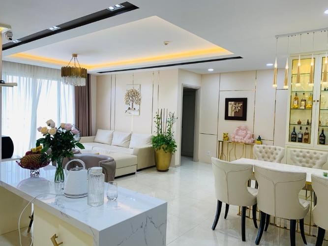 Bán căn hộ The Gold View 3 phòng ngủ, đầy đủ nội thất, hướng Đông Bắc, view thành phố