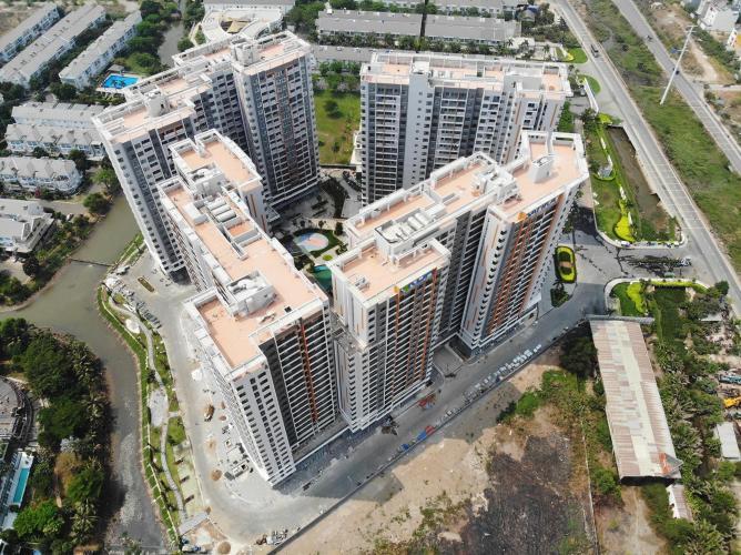 Bán duplex Safira Khang Điền 3PN, tầng 1, tháp B, hướng cửa Đông Nam
