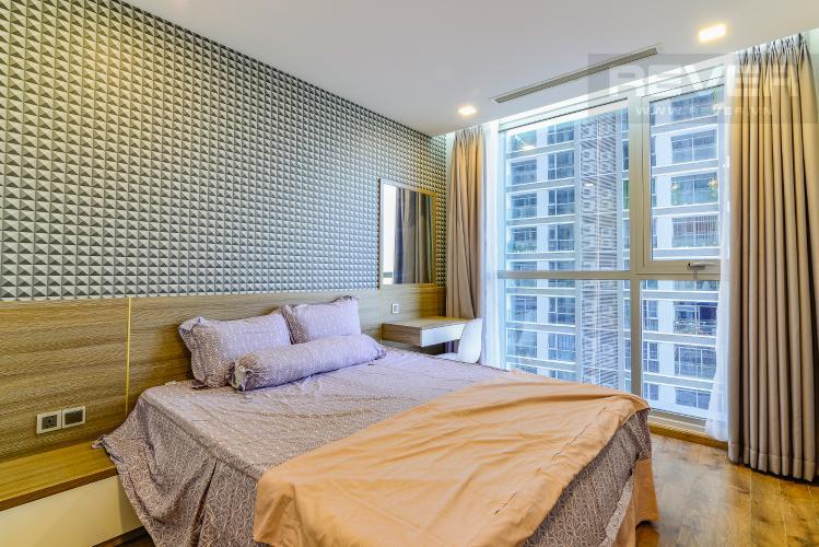 Phòng Ngủ 2 Căn hộ Vinhomes Central Park 2 phòng ngủ tầng trung P3 nội thất đầy đủ