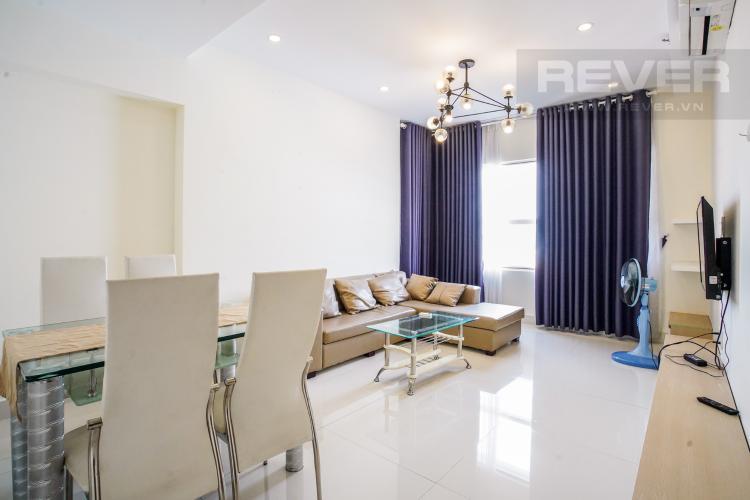 Phòng Khách Bán hoặc cho thuê căn hộ Sunrise City 2PN, tháp X1 khu North, đầy đủ nội thất, view Phú Mỹ Hưng