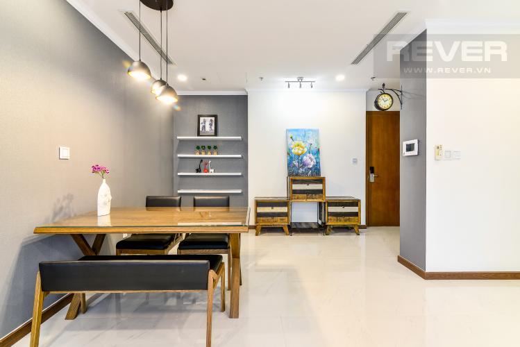 Phòng Ăn Căn hộ Vinhomes Central Park 3 phòng ngủ tầng cao L6 nội thất có sẵn