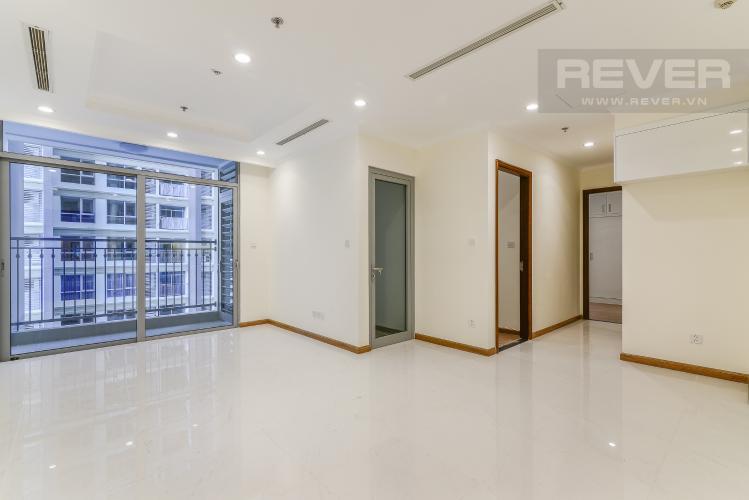 Phòng Khách Căn hộ Vinhomes Central Park 2 phòng ngủ tầng thấp L5 nhà trống