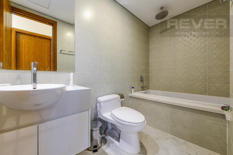 Phòng tắm Bán căn hộ Vinhomes Central Park tầng cao, 1PN, đầy đủ nội thất