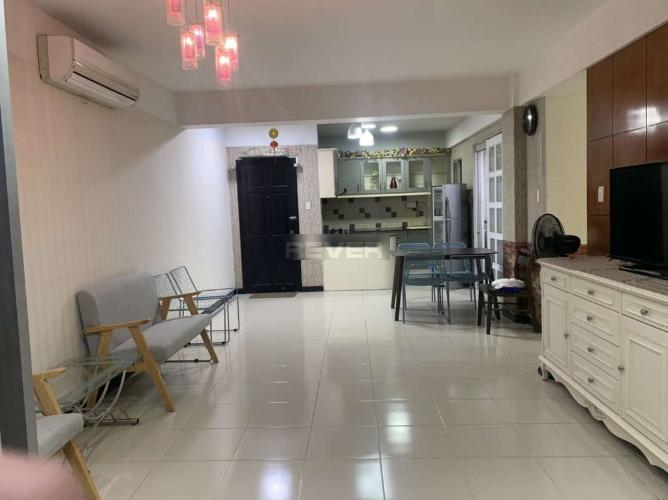 Phòng khách chung cư Phú Mỹ An, Quận 7 Căn hộ chung cư Phú Mỹ An tầng 3, đầy đủ nội thất, view nội khu.