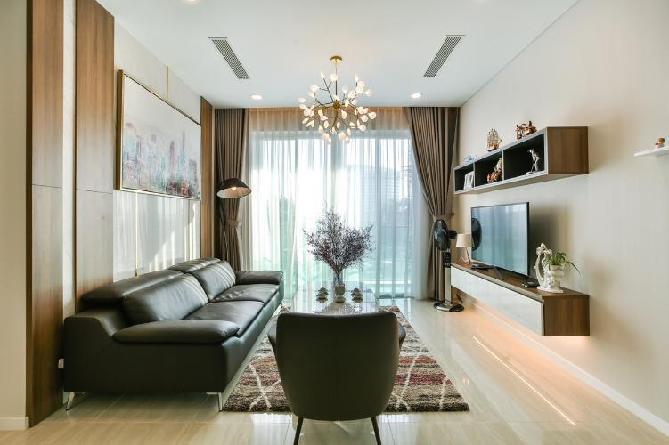 Phòng khách Sadora Apartment, Quận 2 Căn hộ tầng trung Sadora Apartment view nội khu mát mẻ.