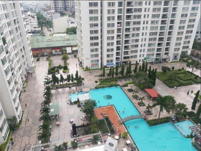 tiện ích căn hộ giai việt Căn hộ Chánh Hưng Giai Việt tầng cao, cửa hướng Đông.