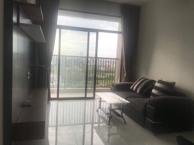 Phòng khách Jamila Khang Điền, Quận 9 Căn hộ Jamila Khang Điền hướng Đông Nam, view thành phố thoáng mát.